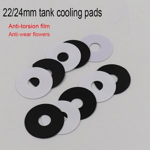 Wholesale 510 heat sink resale online - Heat Sink Adaptor Cooling Pads PC Protective Sheet Heatsink Adapter for Thread Bottom Attached mm mm Connector for Tank Vape RDA RBA