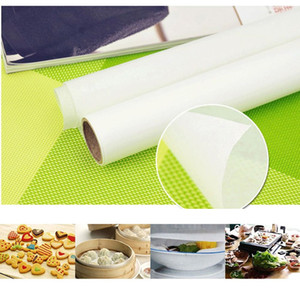 Wholesale parchment papers resale online - 1Roll Parchment Pan Liner Cookie Sheet High Temperature Silicone Oil Baking Paper Kitchen Cookie Sheet