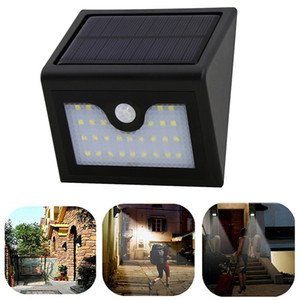 Wholesale NEW LED Solar Sensor Light Leds SMD LED Solar Light Solar Powered Led Outdoor Light Wireless With PIR WaterproofIP65
