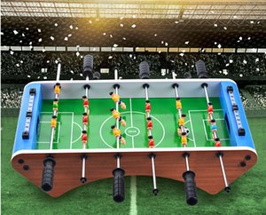 Wholesale New large six pole table soccer table children s toys desktop soccer sports intelligence board games Boy girl Christmas gift toy