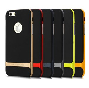 Wholesale ROCK CASE COVER For Apple iPhone S S PLUS Case Hot Multicolor Hybrid Shockproof Hard Bumper Phone Case Cover New