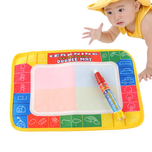 Wholesale DOODLE Magic X19cm Water Drawing Painting Writing Learning Mat Board with Magic Pen Doodle creative Toy Baby Safe Indoor Gift Eco friendly