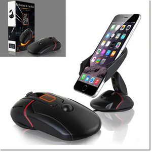 Wholesale 2016 new design cell phone holder mouse like mount with suction cup for hold suit for samsung iphone cell phone with retail package