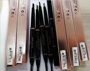 Wholesale HOT MAKEUP Eyebrow Enhancers Makeup Skinny Brow Pencil gold DOuble ended with eyebrow brush g Color GIFT a325