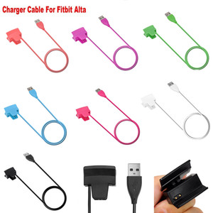 Fitbit Alta Charger Color USB Charger Replacement Charging Charger Cable Cord for Fitbit Alta Smart Fitness Tracker 30cm No Reset Function
