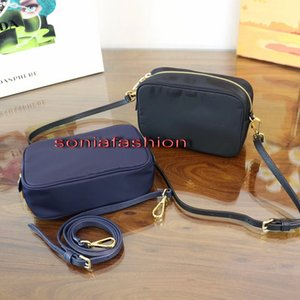 Wholesale 2017 New hot fashion women bag genuine leather strap with parachute fabrics women cross-body bag free shipping on Sale
