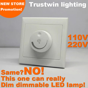 Wholesale Triac SCR dimmer LED 0 to 100 leading edge trailing edge 110V 220V LED dimmer LED dimming switch