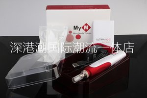 Wholesale MYM Electric Derma Stamp MYM Derma Pen Micro Needle Roller Beauty Equipment Derma Rolling System Skin Care Tool Nutrition Input Pen