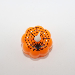 Wholesale LED Candle Lamp Creative Pumpkin Witch Spider Web Modeling Night Light Halloween Props Electronic Craft Home Decor zl F R