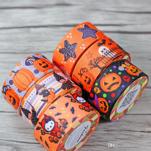 Wholesale DHL halloween 2.2cm * 100cm Adhesive Tapes silk tapes for packing decorate masking factory price(2)
