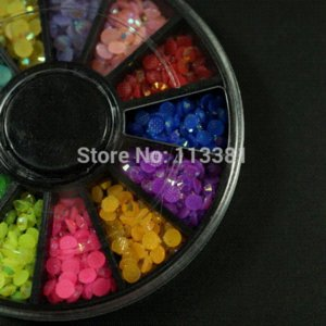Wholesale 10pcs Mix Jelly AB Colors MM Resin Flatback Beads D Nail Art Jewelry DIY Crafts Mobile Case Decor Scrapbooking Appliques