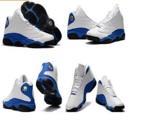 Big boy Hyper Royal 13s Kids Basketball Shoes Olive Sneakers White blue Black Army Green basket ball Trainer 13s Sports footwear 36-47 on Sale