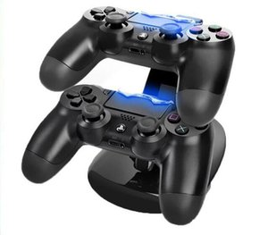 Wholesale New Dual Chargers for Controllers Charging Dock Stand Station For Sony PlayStation PS4 PS X box
