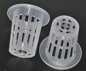 Wholesale DHL Freeshipping Soilless cultivation out planting basket hydroponic water out planting basket cup hydroponics