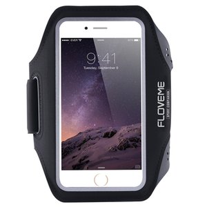 Wholesale Cellphone Arm Bag inch Universal Outdoors Sports Shatter resistant Mobile Phone Armband