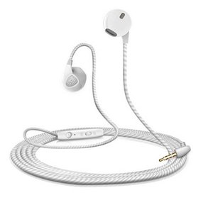 Wholesale Colourful Wired Universal In Ear Handsfree Earphone Headset With MIC And Volume Control Headphone For iPhone Samsung Retail Package Aicoo