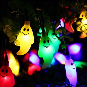 Wholesale Specter LED Solar String Light 4.8M 20 LED Solar Fairy Light Outdoor Waterproof for New Year Halloween Christmas Decoration Lamp
