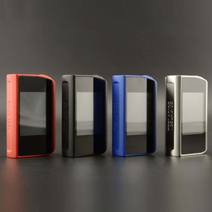Wholesale Authentic Tesla Touch TC Box Mod W Vape Mods with Touch Screen and volts maximum output High quality DHL Free