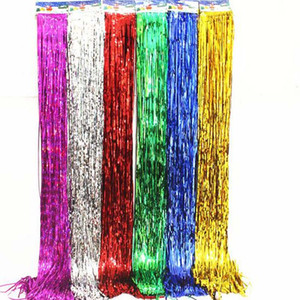 Wholesale rain meter resale online - Rain wire tassel Valentine s Day meter balloon rain wire wedding birthday Christmas decoration background atmosphere venue layout