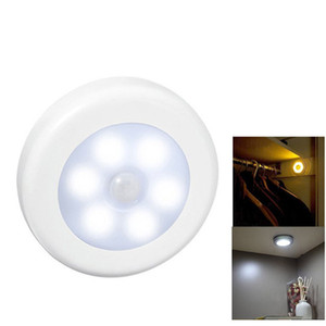 Wholesale Motion Sensor LED Night Lamp Battery Operated Closet Light Bulb for Toilet Stair Hallway Bedroom Liminaire Lampara CE ROSH FCC