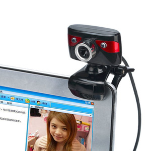 Wholesale 12 M Pixels HD Left Right Degrees Rotatable Web Camera Digital Video Webcamera for Computer PC Laptop Notebook A886