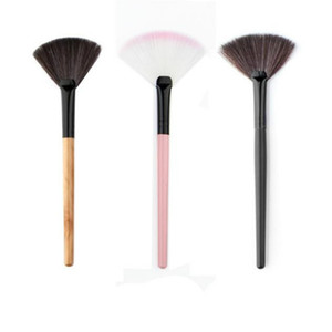 высокая щетка  оптовых-New Hot Selling High quality Makeup Fan Blush Face Powder Foundation Cosmetic Brush