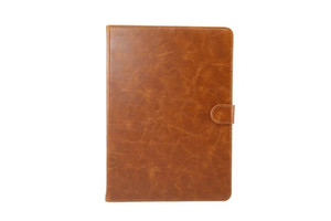 Wholesale Crazy Horse Pattern PU Leather Cover with Card Slots for Samsung Galaxy Tab S3 9.7 T820 T825 Fashion Flip Case with Stand 30pcs