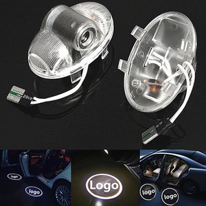 Wholesale 2x Car Led Logo Emblem Laser Lamp LED Car Door Step Ghost Shadow Welcome Projector Light Lamp For Mazda RX8 A8 RX CX9 CX