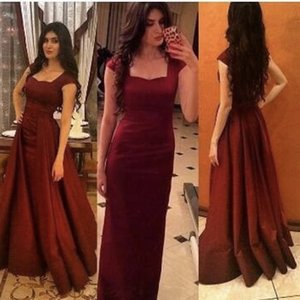 2017 Burgundy Off The Shoulder Sweethart Evening Party Gowns Long Prom Dress With Overskirt vestidos de fiesta on Sale