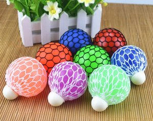 Wholesale New Face Anti Stress Face Reliever Grape Ball Autism Moody Squeeze Relief ADHD Toy