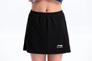New badminton pants shorts woman running fitness pants tennis culottes leisure sports tennis skirts breathable quick dry, free shipping