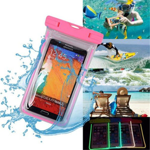 Wholesale Waterproof Pouch Dry Case Cover For Universal quot quot Phone Camera Mobile Phone Water proof Bag LZ0460