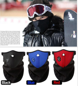 windundurchlässige warme gesichtsmaske großhandel-Motorrad Gesicht windundurchlässiges Maske Outdoor Sports Ski Radmütze Bicyle Bike Warm Mask Warm OOA2186