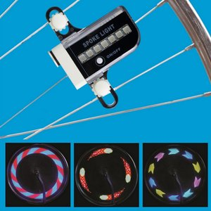 Wholesale SPOKE LIGHT BAINBOW LED Motorcycle Cycling Bicycle Bike Wheel Signal Tire Spoke Light Changes