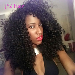 Wholesale Kinky Curly Weave Full Lace Wigs With Baby Hair Adjustable Inch Brazilian Indian Peruvian Malaysian Mongolian Lace Front Hair Wigs