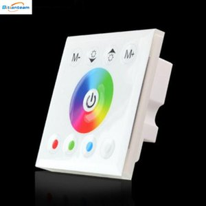 Wholesale 86 Wall Mounted LED RGBW Touch Panel Full Color Controller DC12 V A CH For Lamp RGB Strip Light