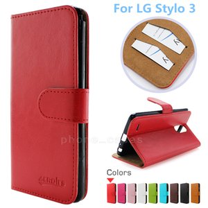 Wholesale Wallet PU Flip Leather Case For LG Stylo Stylo Plus LG Aristo Credit Card Back Cover For Huawei P8 Lite