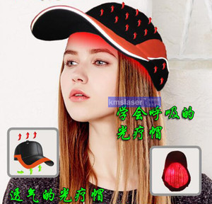 Wholesale 2017 new model Laser cap hair growth laser machine best hair regrowth product laser hair grow led light therapy nm diode cap
