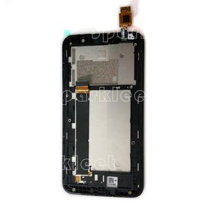 Wholesale- LCD Frame For Asus ZenFone Go TV ZB551KL LCD Display Touch Screen Digitizer Assembly Front Housing Part Free Shipping
