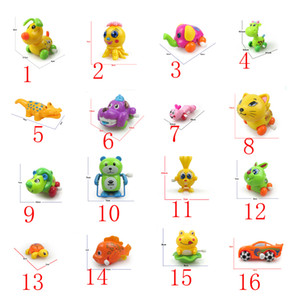 16 models small-scale Up chain toys animal Reward children Kindergarten gife turtle baby kids Bath toys on Sale