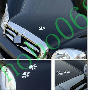 Wholesale claw stickers for sale - Group buy 100pcs Car vehicle decoration D stereo creative sticker LOVELY dog cat paw claw feet decorative DIY