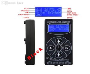 New Hot Tattoo power supply Hurricane HP-2 Tattoo Digital Dual Power Supply Black Tattoo power unit