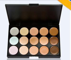 Wholesale skin camouflage makeup resale online - Concealer palette colors Face Cream Concealer Facial Care Camouflage Makeup Palette with Makeup Brushes colors