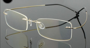bcab7a4c046 Retail 1pcs non-screw rimless optical Eyeglasses frames for prescription  many colors available