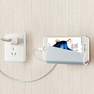 Wholesale Creative Foldable Wall Charger Adapter Mobile Cell Phone MP3 Charging Charger Holder Stand Cradle charge Holder