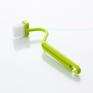 Wholesale toilet brush handle for sale - Group buy 1 pc S Shape Toilet Cleaning Brush Portable Toilet Brush Scrubber Curved Clean Side Bending Handle Corner Brush