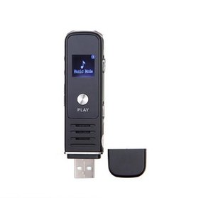 Wholesale driver recorder for sale - Group buy Mini digital Voice Recorder portable USB Flash Driver Dictaphone LCD display Audio voice recorder with mp3 music player support TF card