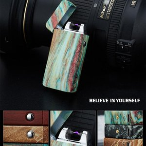 Wholesale popular Electric Lighter Arc Cigarette Plasma Rechargeable Windproof Flameless USB Electronics usb cigarette cigar lighter
