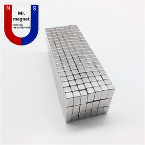 Wholesale magnets neodymium for sale - Group buy 100pcs Hot sale x5x5 x5x5mm strong rare earth neodymium magnet NdFeB small rectangle permanent magnet