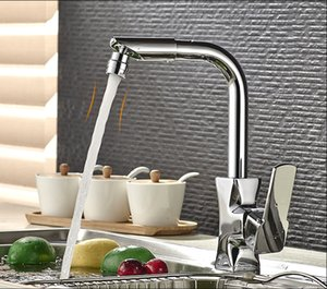 Wholesale Friends of the cold hot and cold basin faucet can be free to switch to the kitchen washbasin dual use faucet